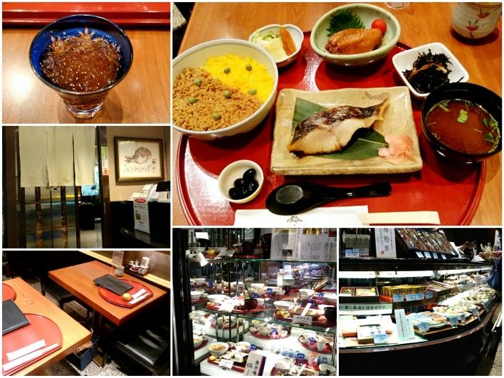 名古屋の老舗の味醂酒粕漬けランチ